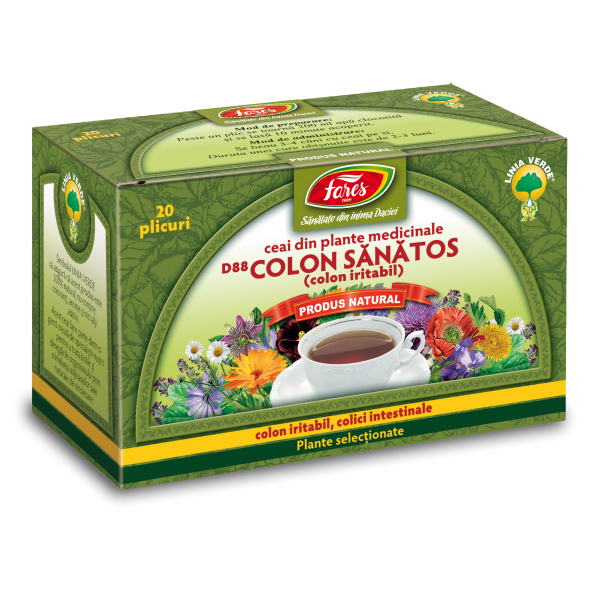 Fares Ceai Colon Sănătos 50g