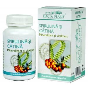 DACIA PLANT Spirulina si catina - 60 comprimate