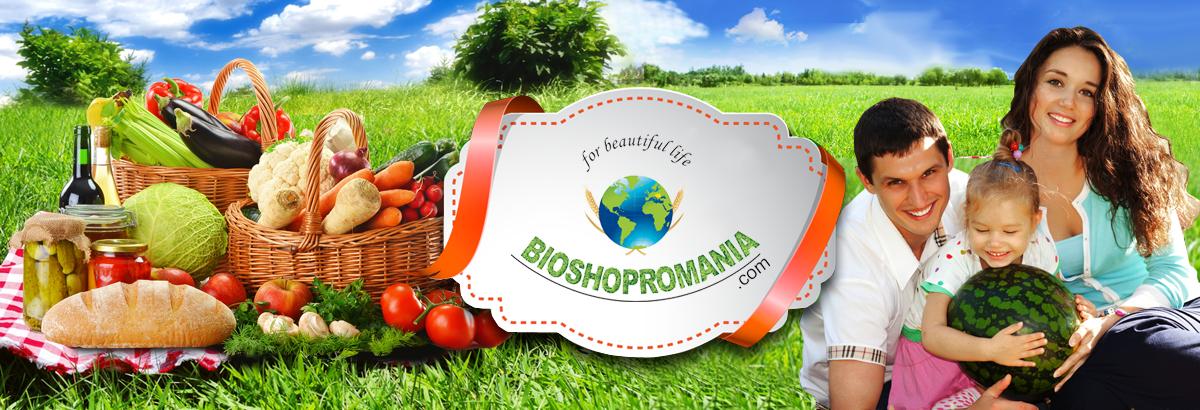 BioShopromania.com - magazin cu produse romanesti bio, produse traditionale naturale