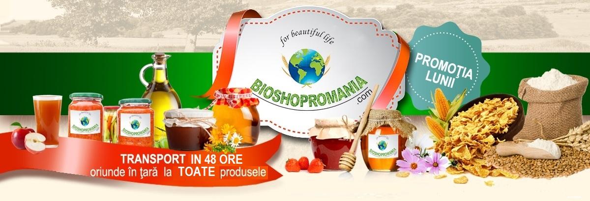 BioShopRomania - magazin cu produse romanesti bio, produse traditionale naturale