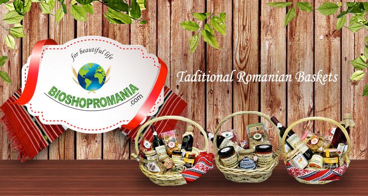 Romanian traditional baskets