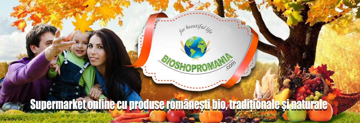 BioShopRomania magazin cu produse romanesti bio, produse traditionale naturale