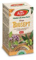 Sirop Biosept propolis, miere si vit. C BioShopRomania.com