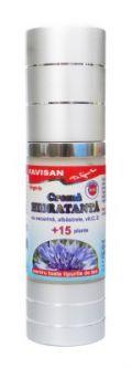 crema hidratanta cu 15 plante BioShopRomania