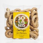 Pretzels with whole wheat flour and caraway BioShopRomania.com