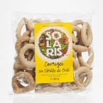 Pretzels with whole wheat flour and oat bran BioShopRomania.com