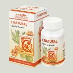 Vitamin C natural complex BioShopRomania.com