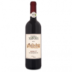 Bio red wine Merlot 750ml BioShopRomania.com
