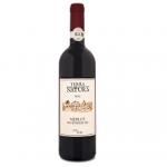 Bio red wine Merlot 750ml BioShopRomania.com