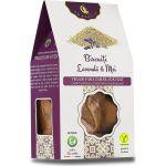 Biscuiti vegani cu Lavanda si Mei BioShopRomania magazin online produse bio naturale