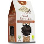 Vegans biscuits with carob and oat BioShopRomania.com