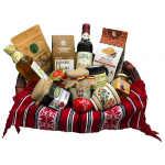 Romanian traditional gifts basket
