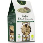 Vegan crackers with sesame and spices BioShopRomania.com