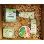 Romanian traditional gift box with Romanian natural cosmetics