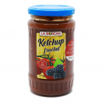 Ketchup fructat cu tomate prune si mure La Borcan, 370g