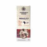 Nougat with cocoa beans and cranberry Aromes Noirs 60g