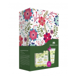 Gift set Package Q10 COSMETIC PLANT contains Day Cream against Wrinkle Q10 50ml + Eye Contour Cream 30 ml + Anti-Aging Hand Cream 100ml.