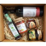 Gift box with traditional products