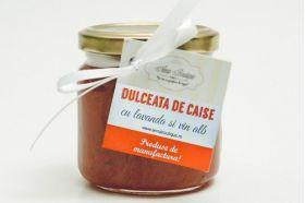 Apricot jam with lavender and white wine BioShopRomania