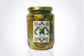 Pickled cucumbers in vinegar Sarata Monteoru 400g