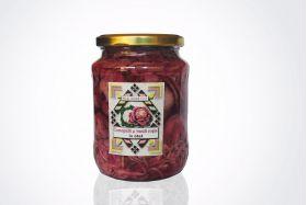 Conopida si varza rosie in otet Sarata Monteoru 720ml