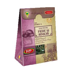 'G' Gall and Kidney stones tea BioShopRomania.com