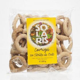Pretzels with whole wheat flour and oat bran BioShopRomania.com