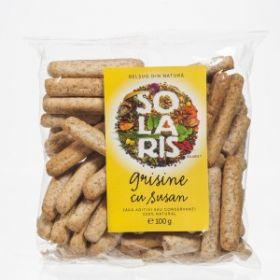 Grissini whole wheat and sesame BioShopRomania.com