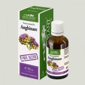 Artichoke alcohol-free tincture BioShopRomania.com