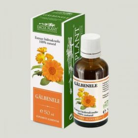 Tinctura galbenele BioShopRomania.com