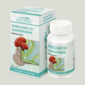 spirulina cu ganoderma BioShopRomania.com
