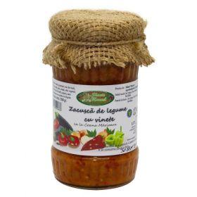 Zacusca de legume cu vinete BioShopRomania magazin online cu produse romanesti bio traditionale naturale