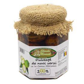 Dulceata de nuci verzi BioShopromania magazin online cu produse romanesti bio traditionale naturale