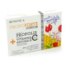 Comprimate naturale cu propolis si vitamina C propoforte junior benefica BioShopRomania.com