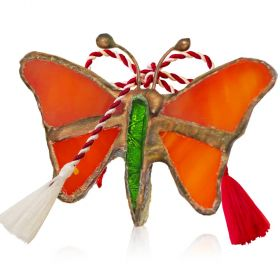 Martisor handmade Fluture Tiffany
