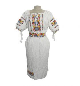 Rochie Traditionala cusuta manual din Bucovina