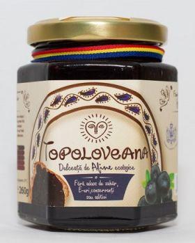 dulceata de afine topoloveni BioShopRomania.com