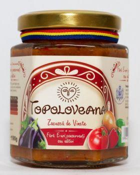 zacusca de vinete BioShopRomania.com