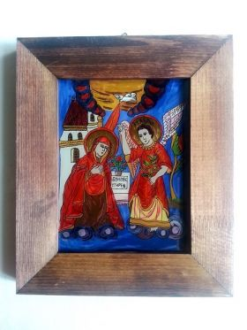 The Annunciation to the Blessed Virgin Mary 18x14 cm BioShopRomania.com
