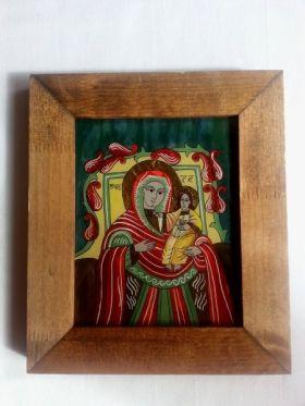 Saint Mary and child 20x16 cm BioShopRomania.com