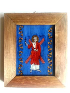 Saint Andrew the Apostle 18x14 cm BioShopRomania.com
