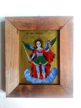 Saint Michael the Archangel 14x18 cm BioShopRomania.com