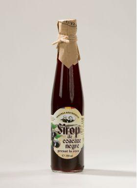 Black currant syrup BioShopRomania.com