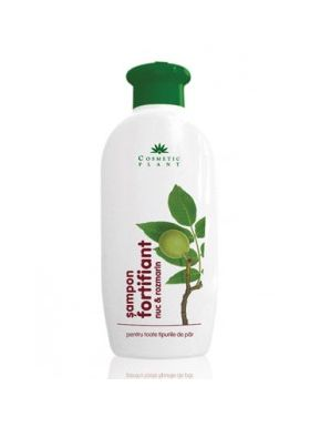 Fortifying Shampoo with walnut and rosemary BioShopRomania.com