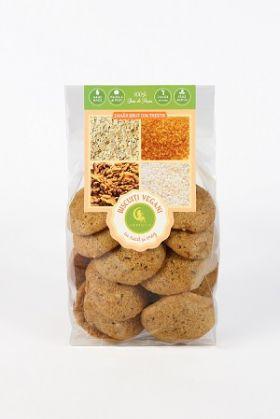 Biscuiti vegani cu nuca si orez BioShopRomania.com
