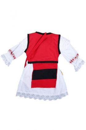 Costum popular fete pentru botez 5 piese DIAL