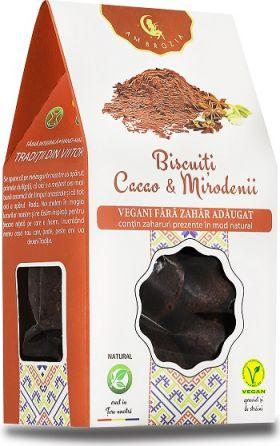 Biscuiti vegani cu mirodenii si cacao BioShopRomania.com