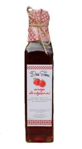 Sirop de capsuni BioShopRomania magazin online cu produse romanesti bio traditionale naturale