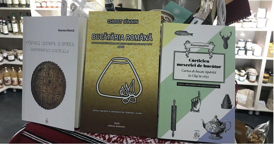 Carti de gastronomie BioShopRomania