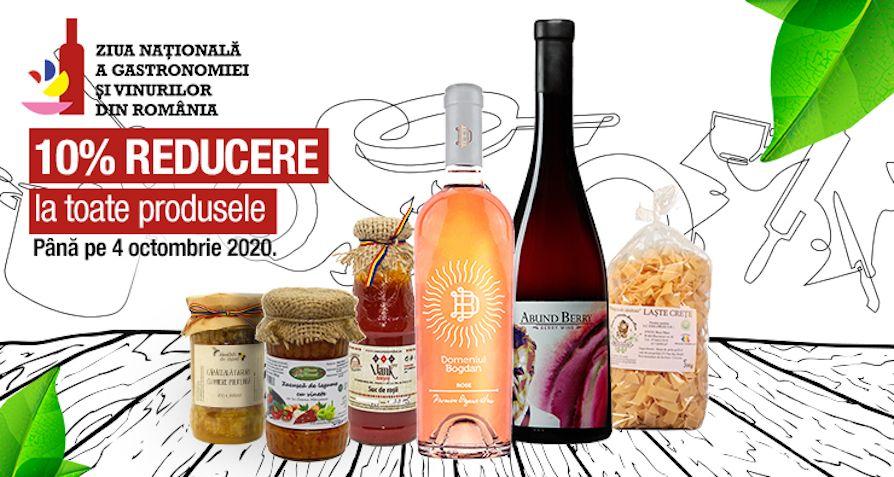 Sarbatorim Ziua Nationala a Gastronomiei si Vinurilor din Romania BioShopRomania